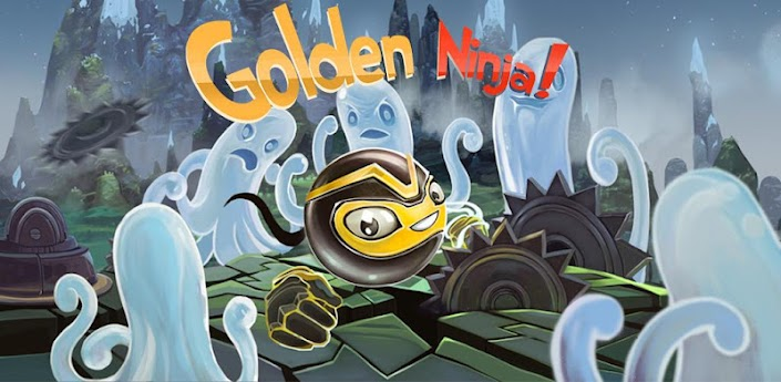 Скачать игру Golden Ninja Pro для Андроид