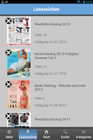 Screenshot of Kataloge App - KaufNavigator