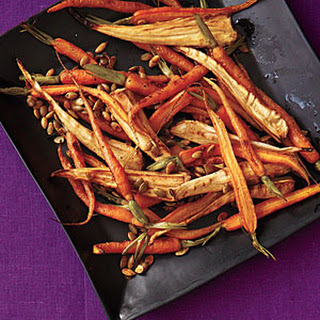 Roasted Spiced Parsnips and Carrots