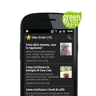 【免費生活App】GreenApp (greenmagazine.it)-APP點子