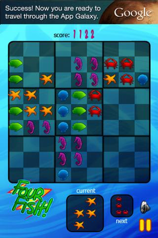 Four Fish Free - screenshot