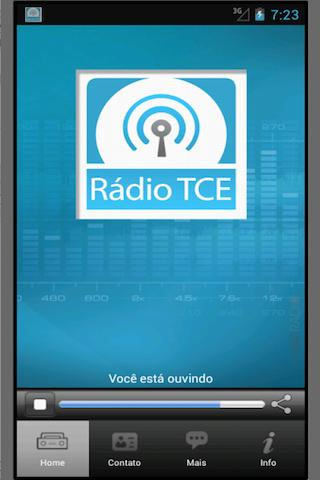 Rádioweb TCE/MT- screenshot