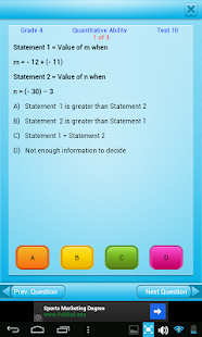 Free Grade 4 Math English 4th- screenshot thumbnail