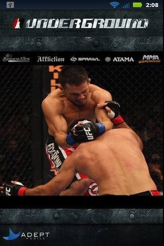 MMA Underground Lite - screenshot