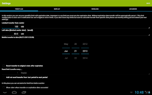 Mobile Counter | Data usage | Internet traffic 13