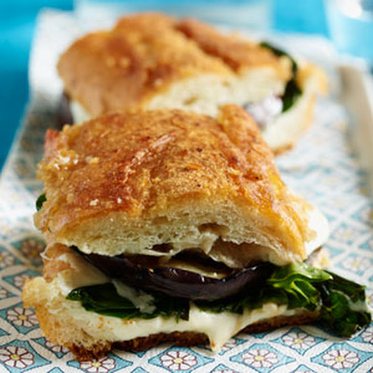 Pressed Sandwich with Roasted Eggplant Recipe