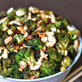 Pan-Roasted Cashew Broccoli