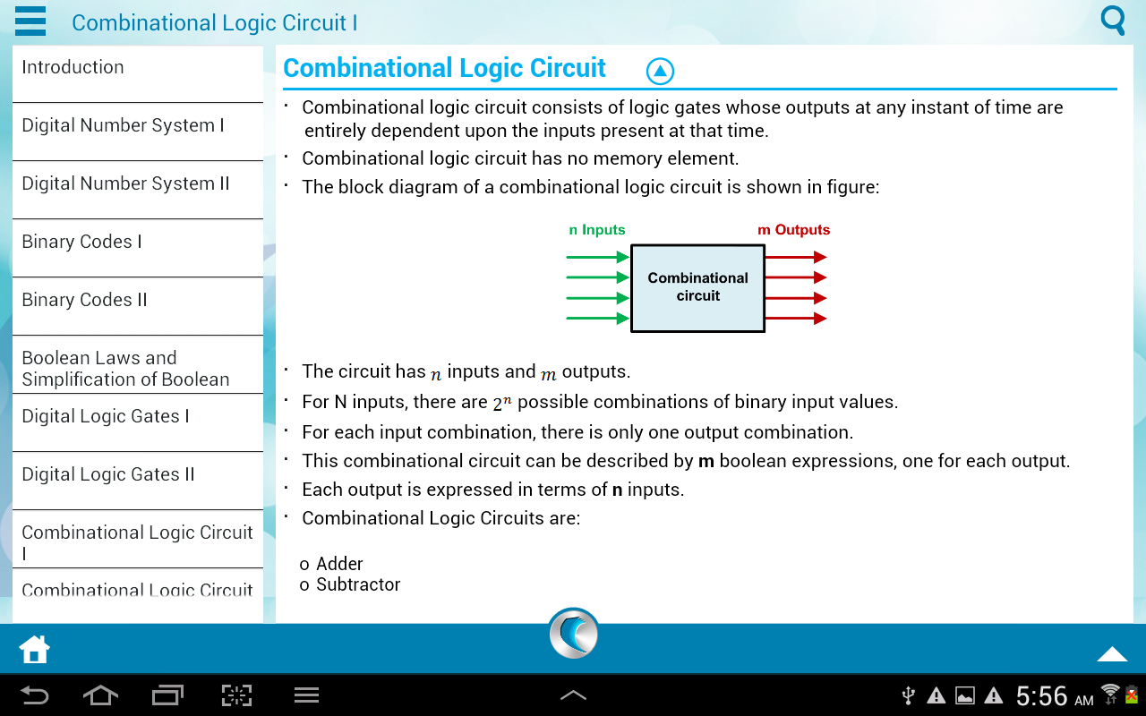 Digital Electronics by WAGmob - screenshot