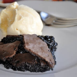 Brownie Pudding.