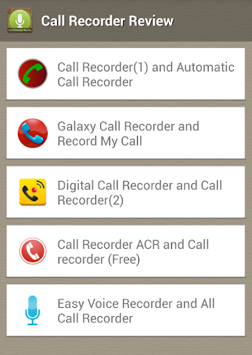 Call Recorder Review