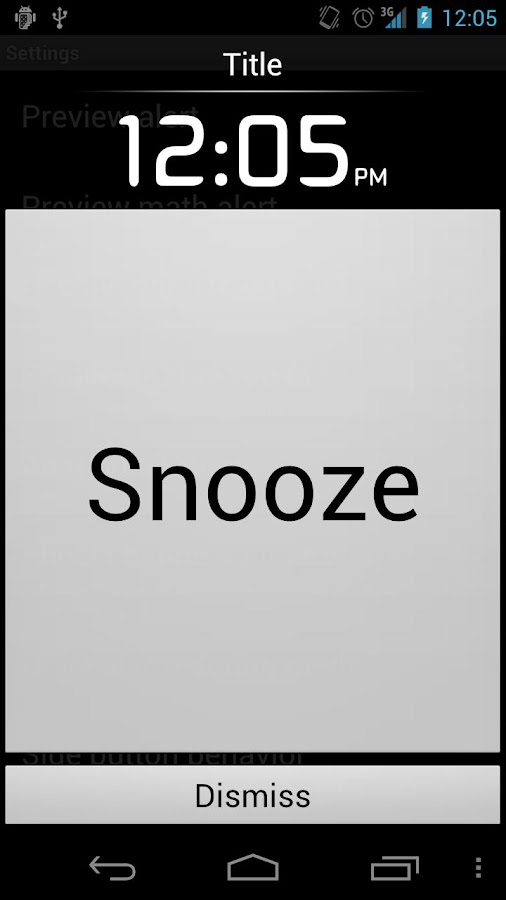 Alarm Clock Plus★ - screenshot