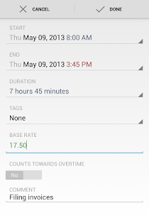 HoursTracker Pro - screenshot thumbnail