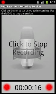 Automatic Recorder - screenshot thumbnail