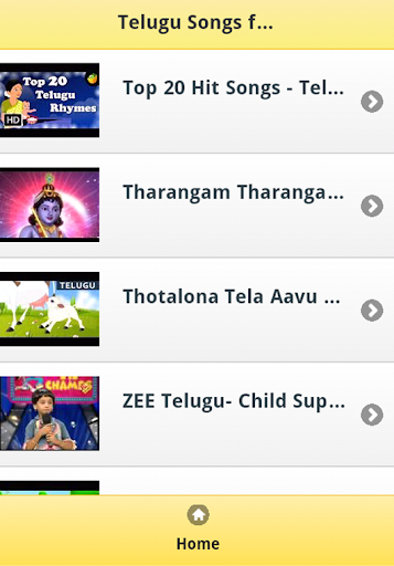 Telugu Songs for Kids