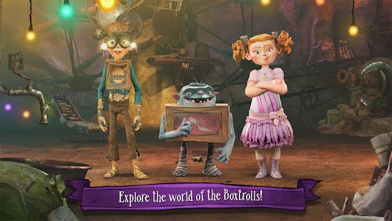 The Boxtrolls: Slide 'N' Sneak Screenshot 3