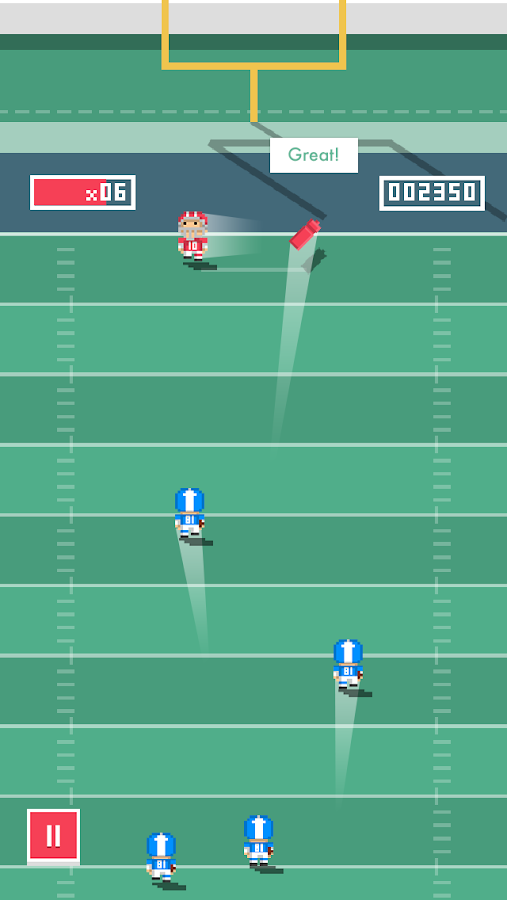 Tiny Touchdown- screenshot
