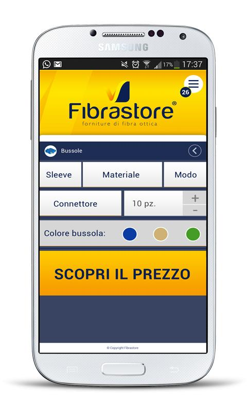 Fibrastore- screenshot