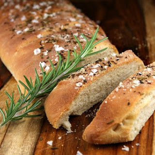 Rosemary- Sea Salt Italian Bread