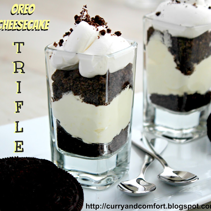 Oreo Cheesecake Trifles (Throwback Thursdays)