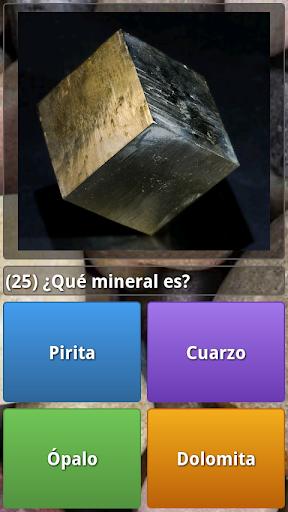 Quiz Minerales