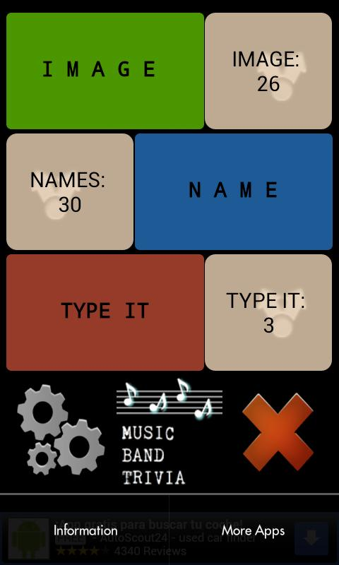 Music Bands Trivia - screenshot