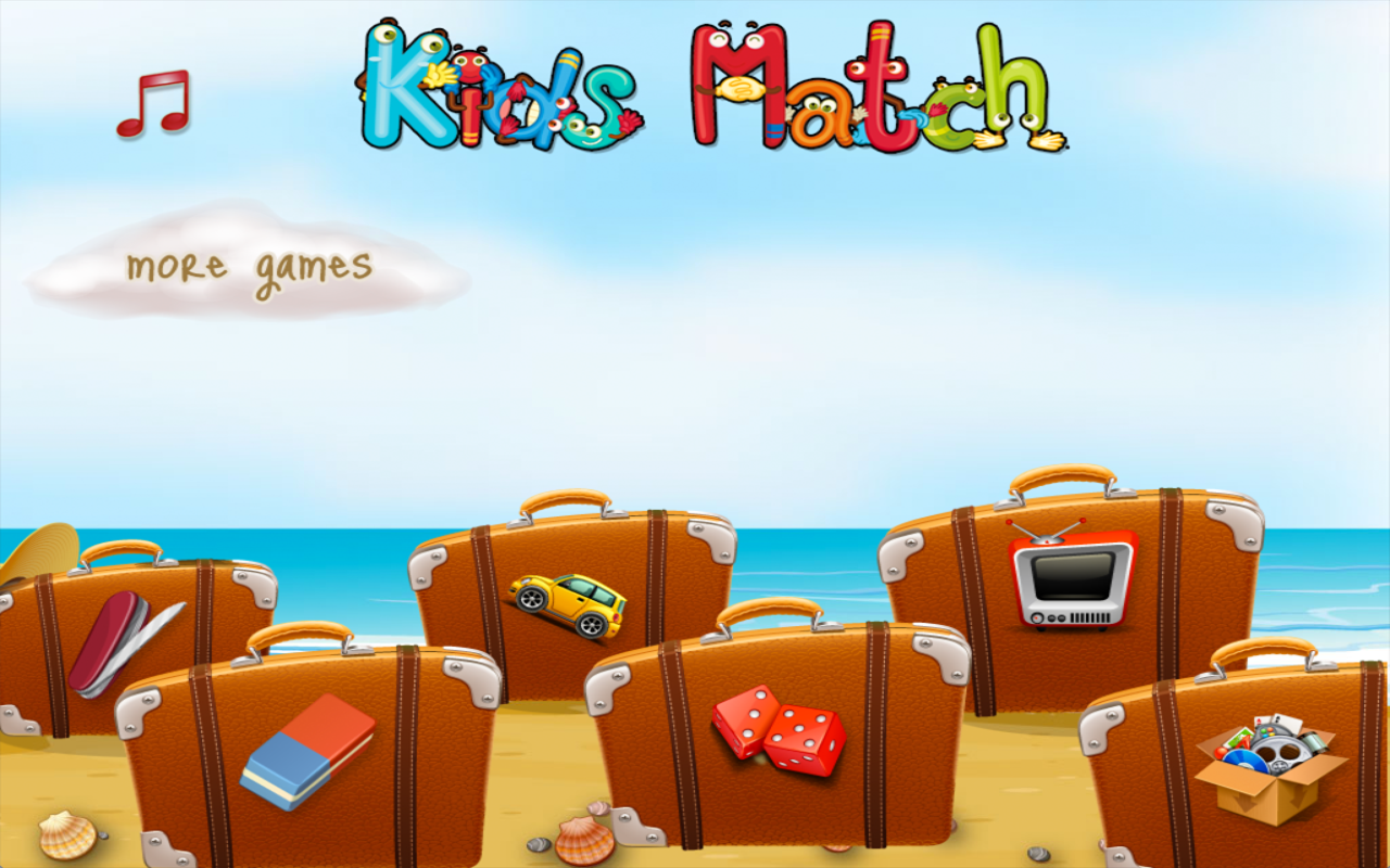Kids match for toddlers- screenshot