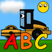 Kids Trucks: Alphabet Games