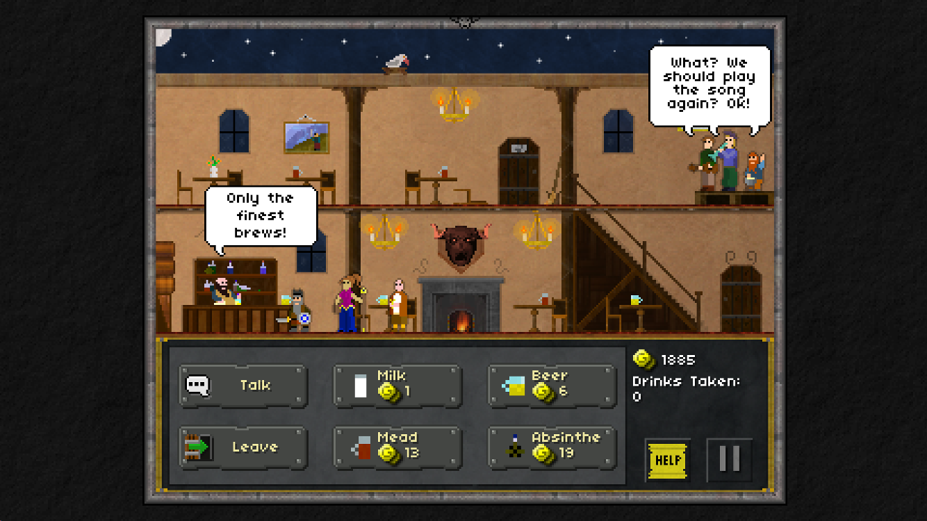 Pixel Heroes: Byte & Magic- screenshot