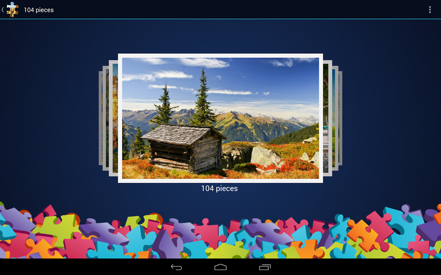 Landscapes Jigsaw Puzzles - screenshot