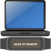 Gear Fit Mouse Key Remote