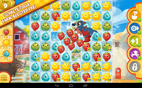 Farm Heroes Saga: Neues Match-3-Spiel der Candy Crush-Macher