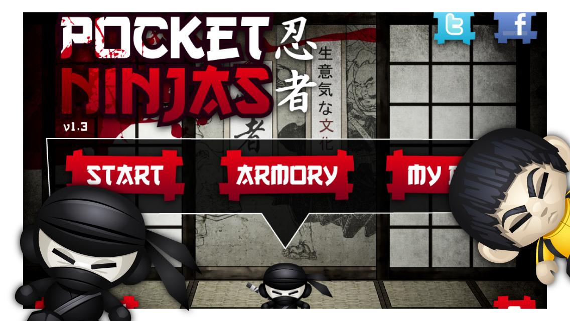 Pocket Ninjas- screenshot