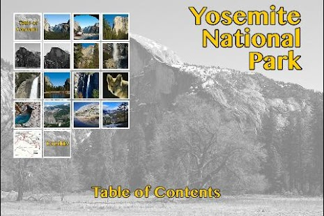 Yosemite National Park Gallery- screenshot thumbnail