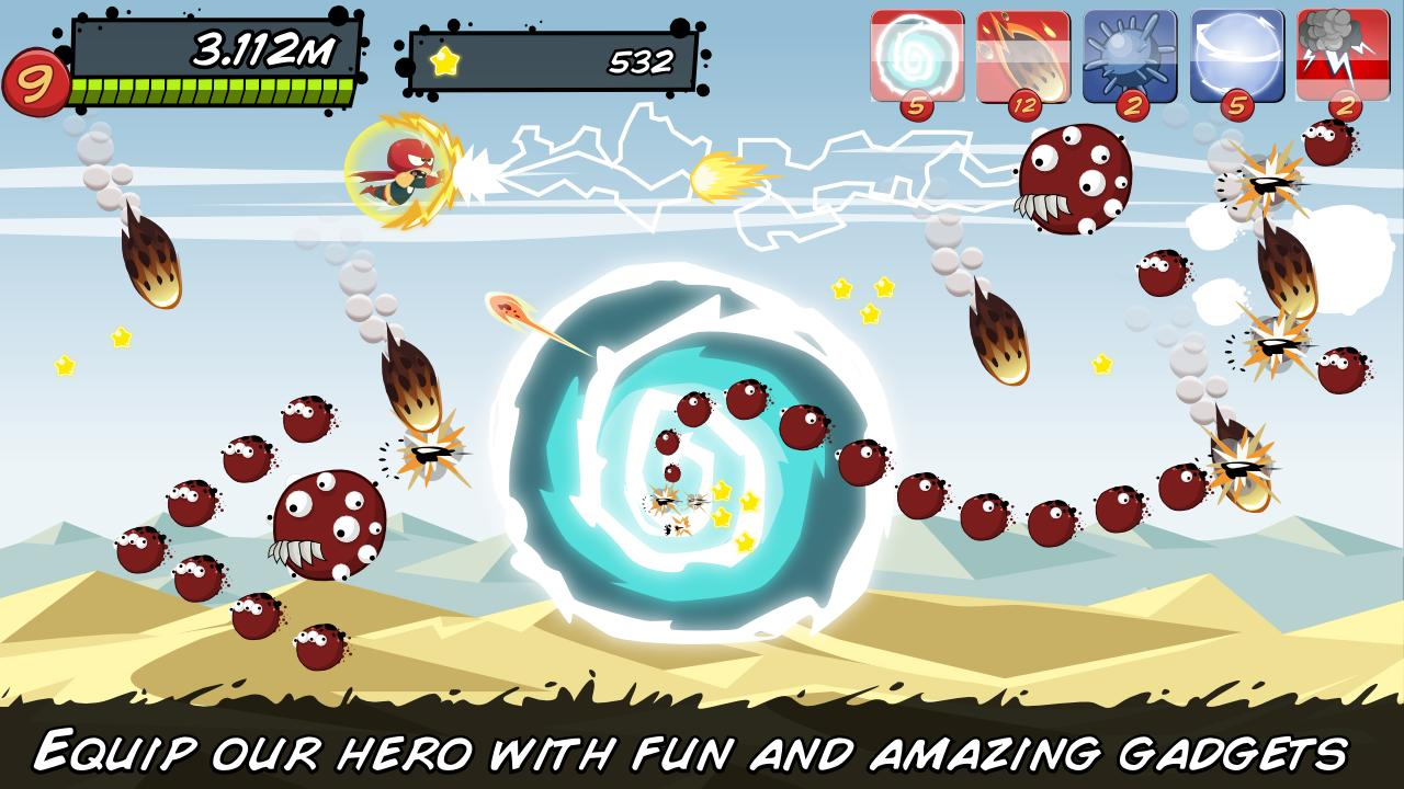 ST Earth Monster Alien Shooter - screenshot