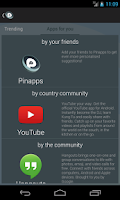 Screenshot of Pinapps - social app discovery