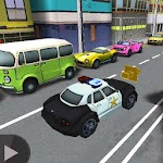 3D Police Car Chase 1.0 Apk