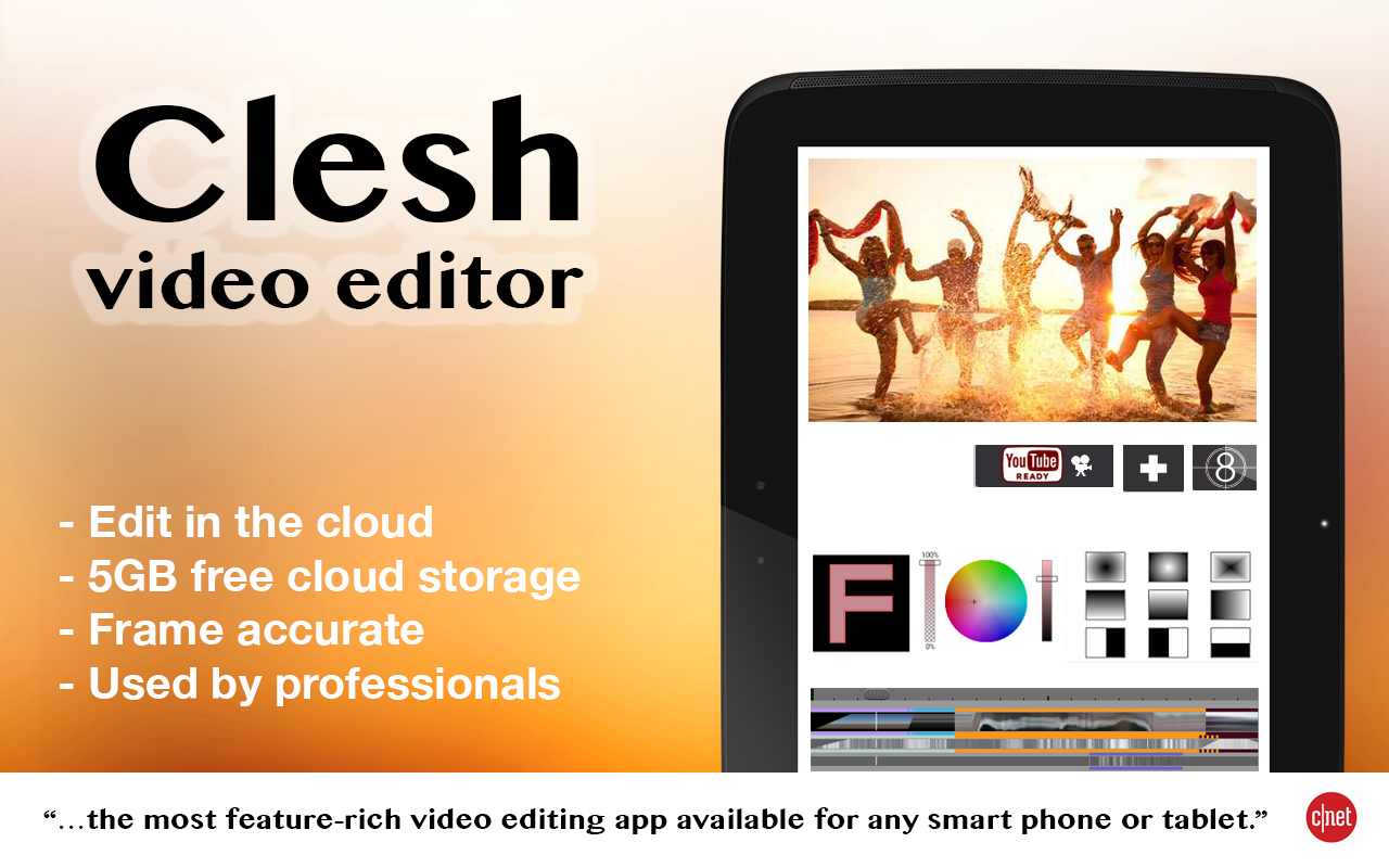 Clesh Video Editor - screenshot