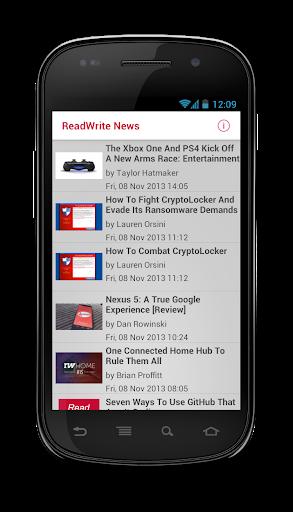 【免費新聞App】ReadWrite News-APP點子