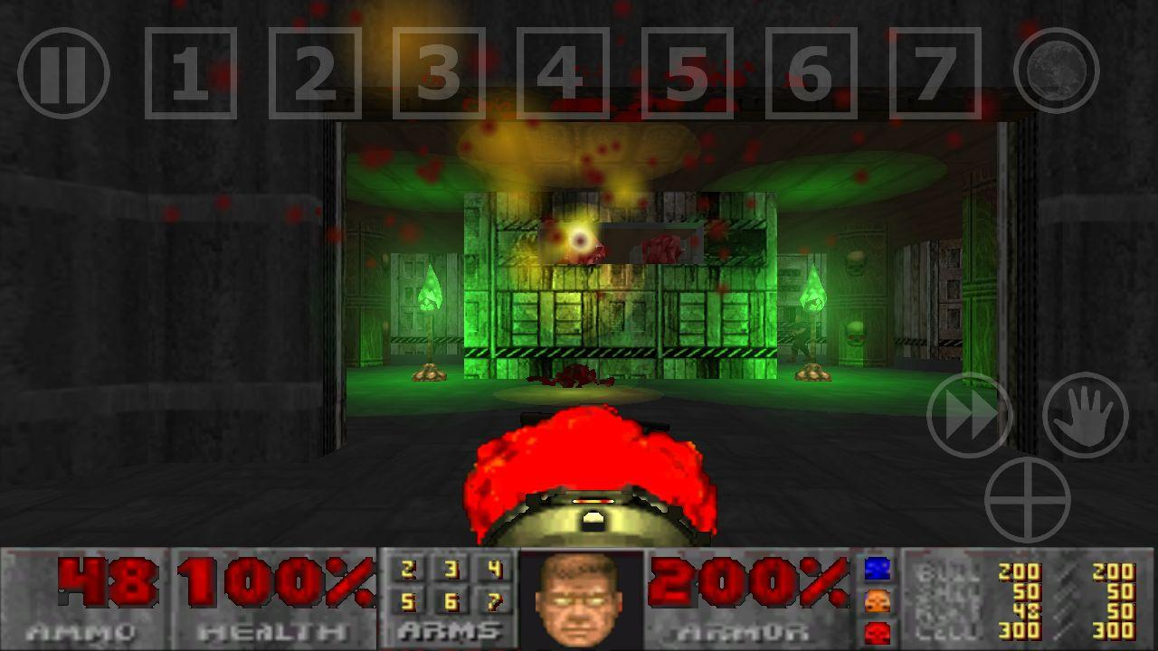 Doom-GLES - screenshot
