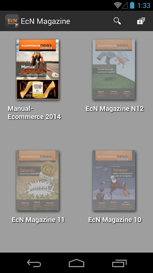 EcN Magazine- screenshot