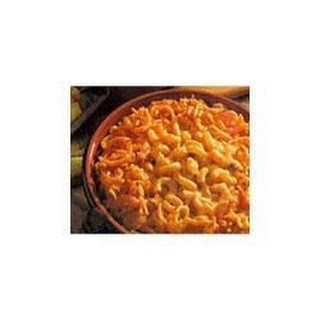 Crispy Macaroni and Cheese.