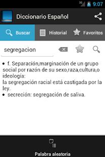 Diccionario Español - náhled