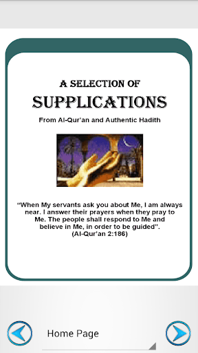 A Selection of Supplications