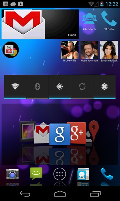 HD 3D Launcher - screenshot