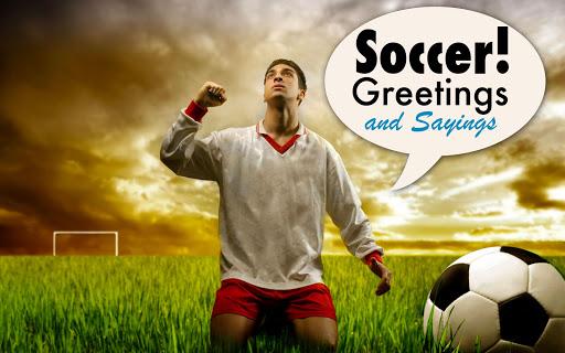 Soccer - Slogans Greetings