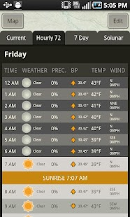 Mossy Oak Hunting Weather App - screenshot thumbnail