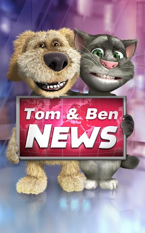 android Talking Tom & Ben News Screenshot 0