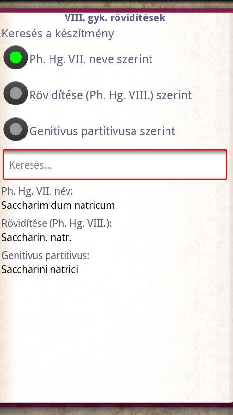 Pharmainfo - screenshot