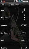 Screenshot of Pocket Jamz Guitar Tabs