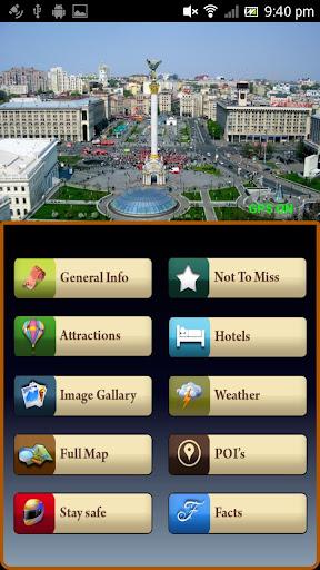 Kiev Offline Map Travel Guide